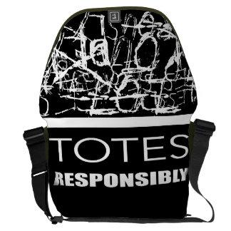 Totes Responsibly Messenger Bag