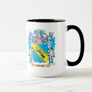 Toth Coat of Arms - Family Crest Mug