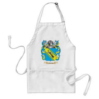Toth Family Crest Coat of Arms Aprons