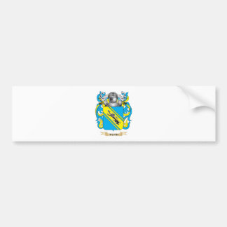 Toth Family Crest Coat of Arms Bumper Sticker