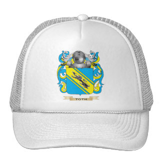 Toth Family Crest Coat of Arms Trucker Hat