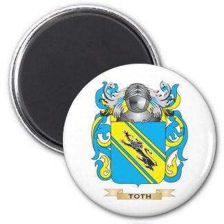 Toth Family Crest Coat of Arms Refrigerator Magnets