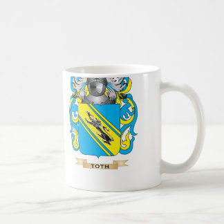 Toth Family Crest Coat of Arms Mug
