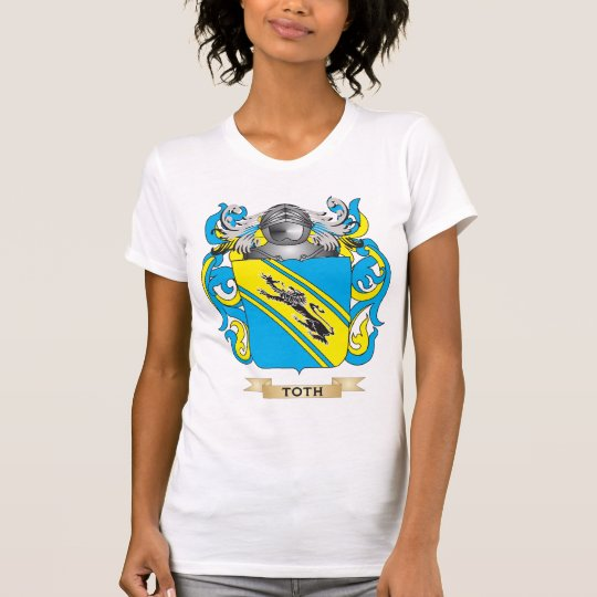 Toth Family Crest (Coat of Arms) T-Shirt