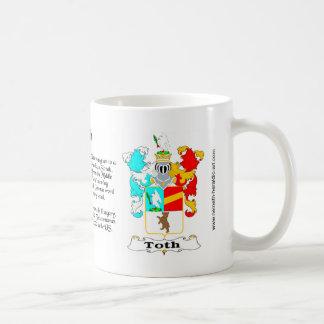 Toth Family Crest mug
