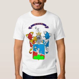 Toth Family Hungarian Coat of Arms T-shirt