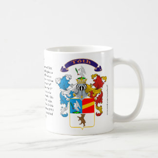 Toth, the Origin, the Meaning and the Crest Coffee Mug