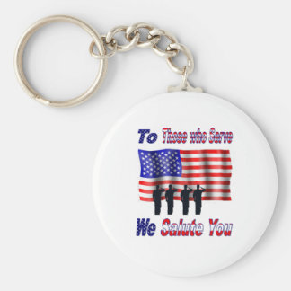 ToThoseWhoServe Keychain