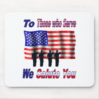 ToThoseWhoServe Mouse Pad