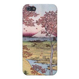 Tōto Meguro Yuhhigaoka, Ando Hiroshige iPhone 5 Fundas