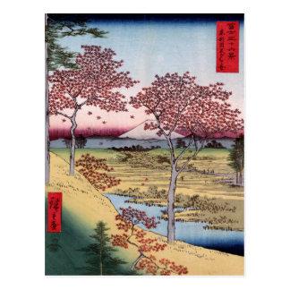 Tōto Meguro Yuhhigaoka Ando Hiroshige Post Cards
