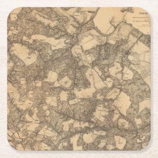 Totopotomoy, Virginia Square Paper Coaster