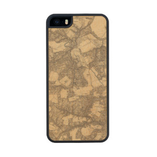 Totopotomoy, Virginia Carved® Maple iPhone 5 Slim Case