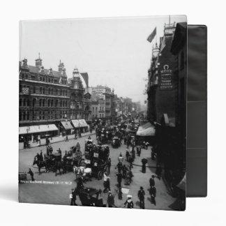 Tottenham Court Road from Oxford Street, Vinyl Binders