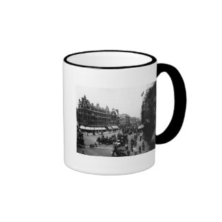Tottenham Court Road from Oxford Street, Ringer Coffee Mug