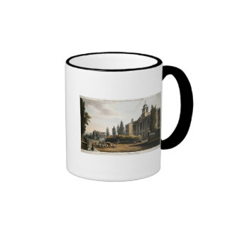 Tottenham Court Road Turnpike Ringer Coffee Mug
