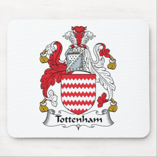 Tottenham Family Crest Mouse Pad