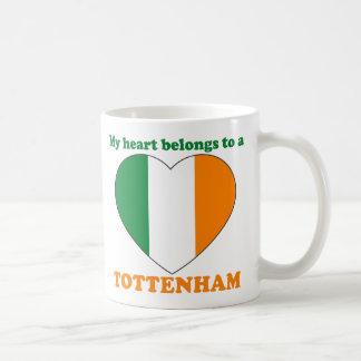 Tottenham Classic White Coffee Mug
