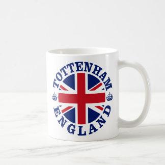Tottenham Vintage UK Design Classic White Coffee Mug