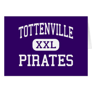 Tottenville - Pirates - High - Staten Island Greeting Card