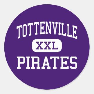 Tottenville - Pirates - High - Staten Island Classic Round Sticker