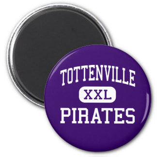 Tottenville - Pirates - High - Staten Island Refrigerator Magnets