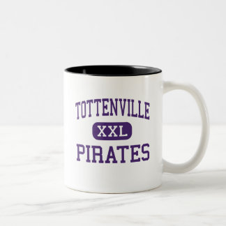 Tottenville - Pirates - High - Staten Island Two-Tone Coffee Mug