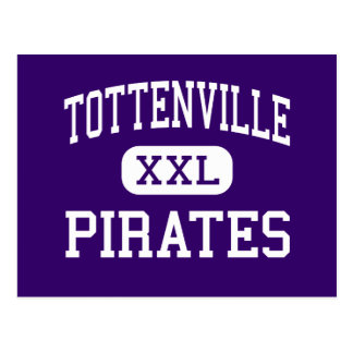 Tottenville - Pirates - High - Staten Island Postcard