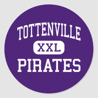Tottenville - Pirates - High - Staten Island Stickers