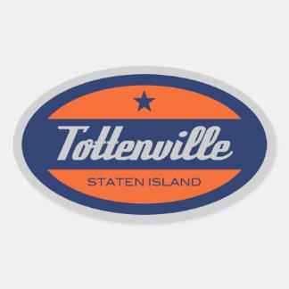 Tottenville Oval Sticker
