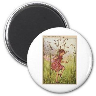 Totter-Grass Fairy Fridge Magnets