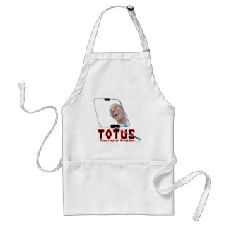 TOTUS - Obama - The Teleprompter President Adult Apron