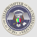 TOTUS THE TELEPROMPTER SEAL STICKER