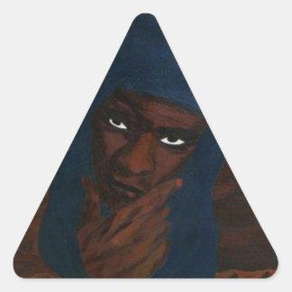 TOUAREG.png Pegatina Triangular