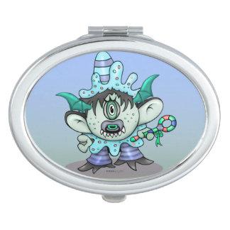 TOUBAKOU HALLOWEEN CARTOON compact mirror OVAL