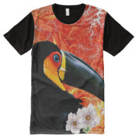 Toucan 3A All-Over Print T-shirt