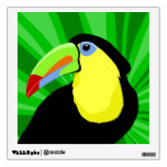 Toucan Abstract Art Wall Graphic