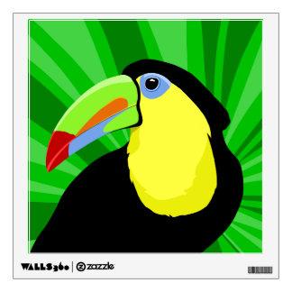Toucan Abstract Art Wall Sticker