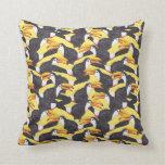 Toucan [amarillo] almohadas
