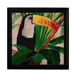 Toucan Bird Wildlife Amazon Jungle Gift Box Jewels