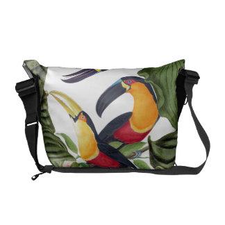 Toucan Birds Wildlife Animals Messenger Bag