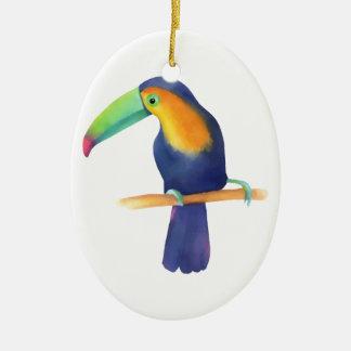 Toucan Ceramic Ornament