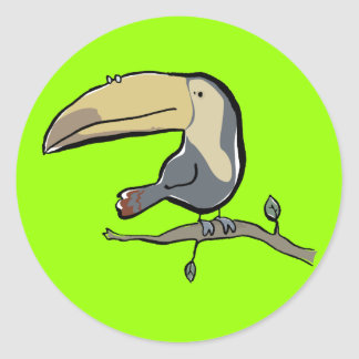 Toucan Classic Round Sticker
