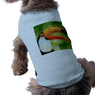 Toucan collage-toucan  art - collage art shirt