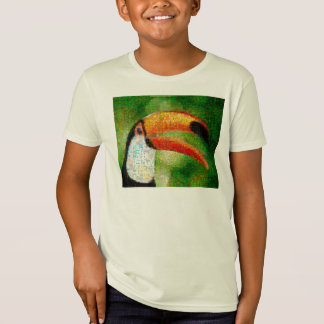 Toucan collage-toucan  art - collage art T-Shirt