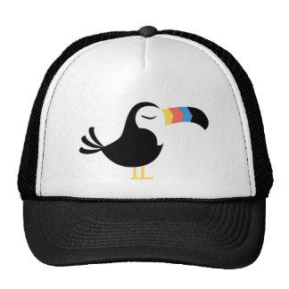 Toucan colorido gorro