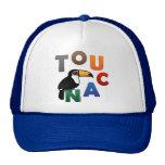 Toucan colorido gorros