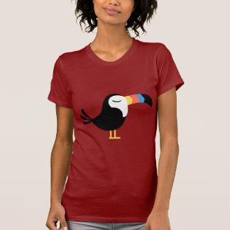 Toucan colorido camisetas