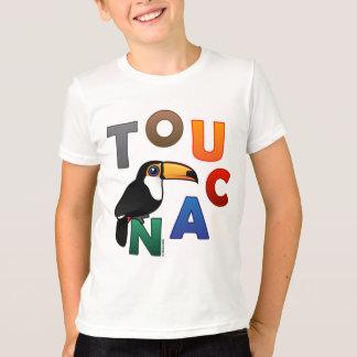 Toucan colorido playera