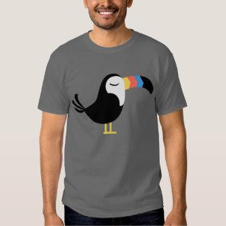 Toucan colorido remera